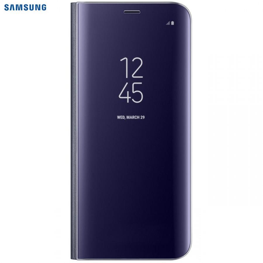 SAMSUNG Coque CLEAR VIEW EF-ZG950CB pour Samsung Galaxy S8 - Violet