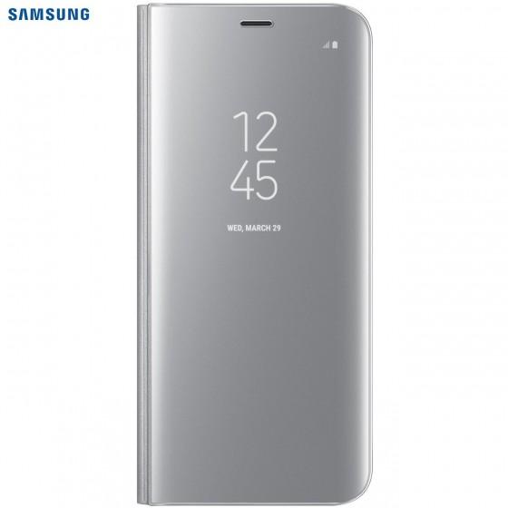 SAMSUNG Coque CLEAR VIEW EF-ZG950CS pour Samsung Galaxy S8 - Silver