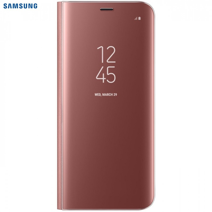 SAMSUNG Coque CLEAR VIEW EF-ZG950CB pour Samsung Galaxy S8 - Noir