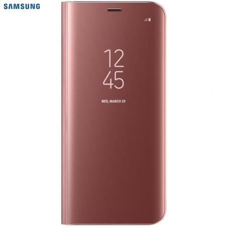 SAMSUNG Coque CLEAR VIEW EF-ZG950CP pour Samsung Galaxy S8 - Rose