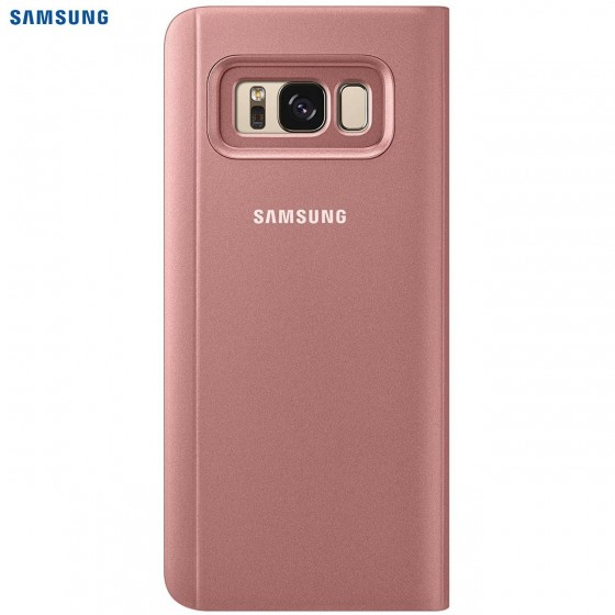 SAMSUNG Coque CLEAR VIEW EF-ZG950CP pour Samsung Galaxy S8 - Rose