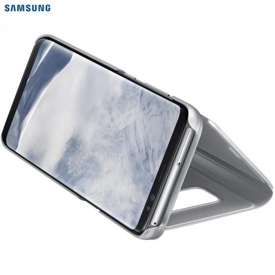 SAMSUNG Coque CLEAR VIEW EF-ZG955CS pour Samsung Galaxy S8+ Silver