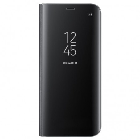 SAMSUNG Coque CLEAR VIEW EF-ZG955CB pour Samsung Galaxy S8+ Noir