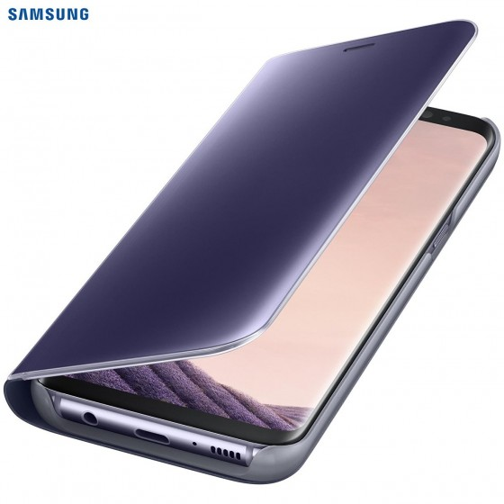SAMSUNG Coque CLEAR VIEW EF-ZG955CV pour Samsung Galaxy S8+ Violet