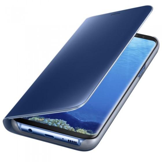 SAMSUNG Coque CLEAR VIEW EF-ZG950CL pour Samsung Galaxy S8 - Bleu