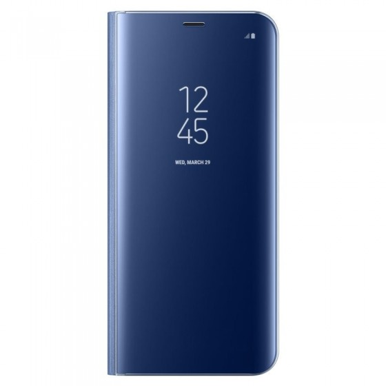 SAMSUNG Coque CLEAR VIEW EF-ZG955CL pour Samsung Galaxy S8+  Bleu