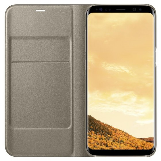 SAMSUNG Coque LED View EF-NG950PF pour Samsung Galaxy S8 - OR