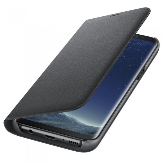 SAMSUNG Coque LED View EF-NG950PB pour Samsung Galaxy S8 - Noir
