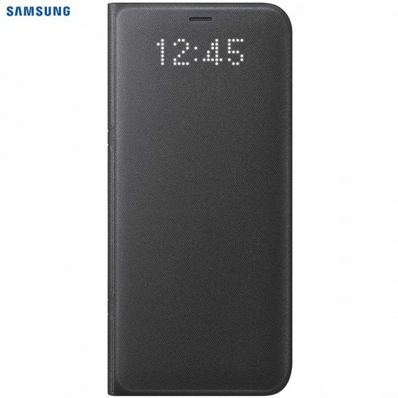 SAMSUNG Coque LED View EF-NG955PB pour Samsung Galaxy S8 Plus - Noir