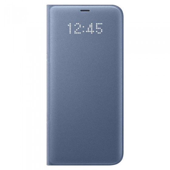 SAMSUNG Coque LED View EF-NG950PL pour Samsung Galaxy S8 - Bleu