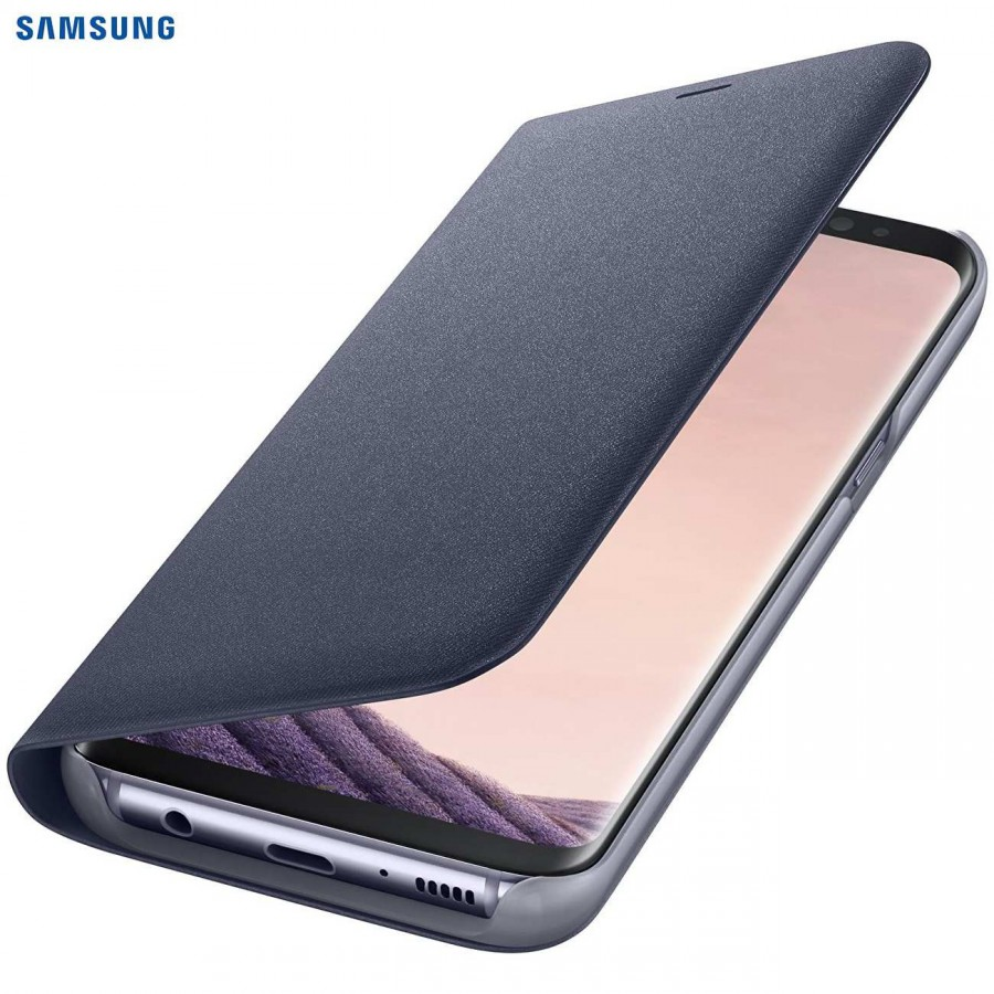 SAMSUNG Coque LED View EF-NG955PV pour Samsung Galaxy S8 Plus Viollet