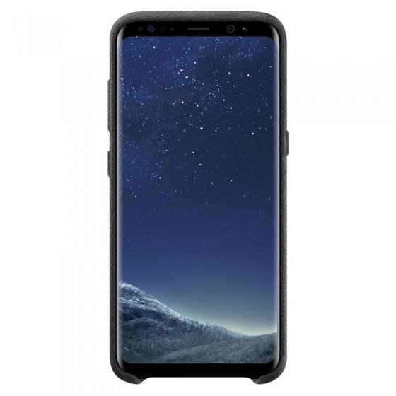 SAMSUNG Coque ALCANTARA EF-XG950AS pour Samsung Galaxy S8 - Noir