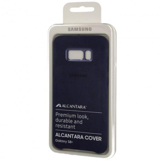 SAMSUNG Coque ALCANTARA EF-XG955AL pour Samsung Galaxy S8 Plus Bleu