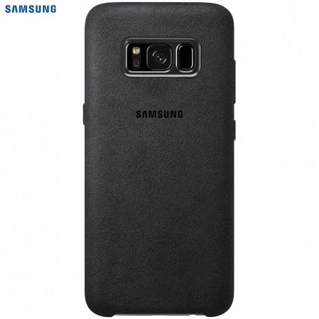 SAMSUNG Coque ALCANTARA EF-XG955AS pour Samsung Galaxy S8 Plus Noir