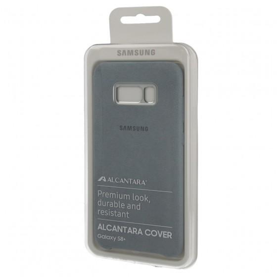SAMSUNG Coque ALCANTARA EF-XG955AM pour Samsung Galaxy S8 Plus Gris