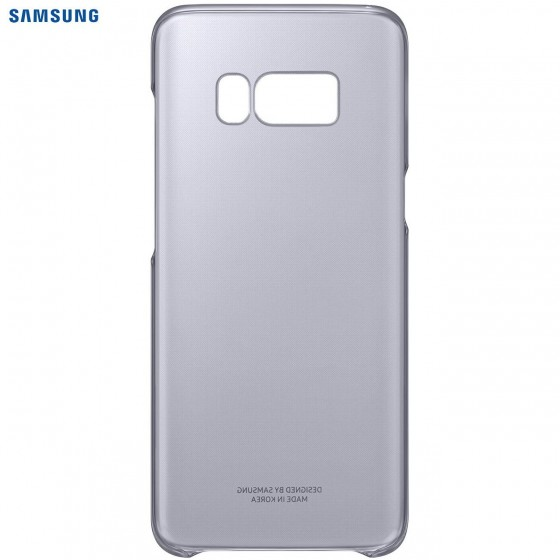 SAMSUNG Coque CLEAR EF-QG950CV pour Samsung Galaxy S8 - Violet