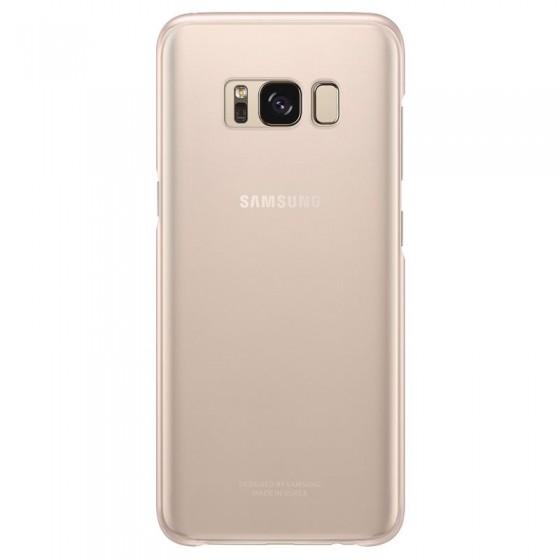 SAMSUNG Coque CLEAR EF-QG950CP pour Samsung Galaxy S8 - Rose