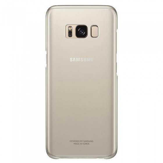 SAMSUNG Coque CLEAR EF-QG950CF pour Samsung Galaxy S8 - OR