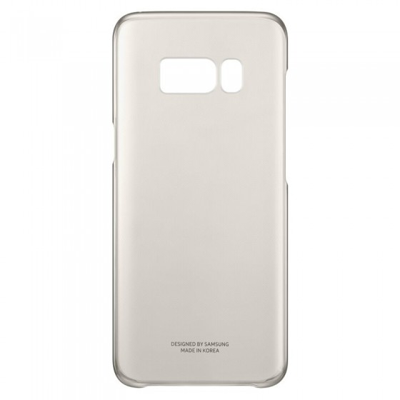 SAMSUNG Coque CLEAR EF-QG950CF pour Samsung Galaxy S8 - OR