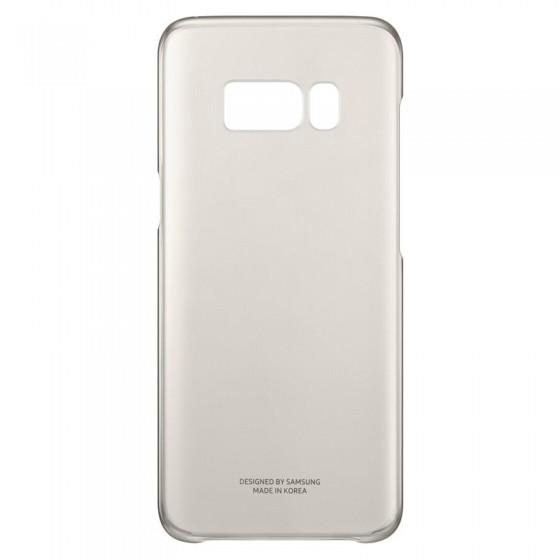 SAMSUNG Coque CLEAR EF-QG955CF pour Samsung Galaxy S8 Plus  OR