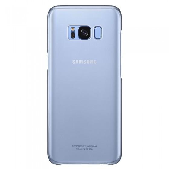 SAMSUNG Coque CLEAR EF-QG955CL pour Samsung Galaxy S8 Plus Bleu
