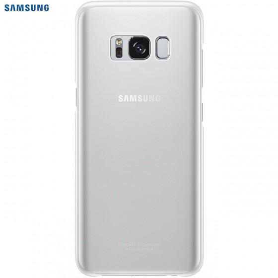 SAMSUNG Coque CLEAR EF-QG955CS pour Samsung Galaxy S8 Plus Silver