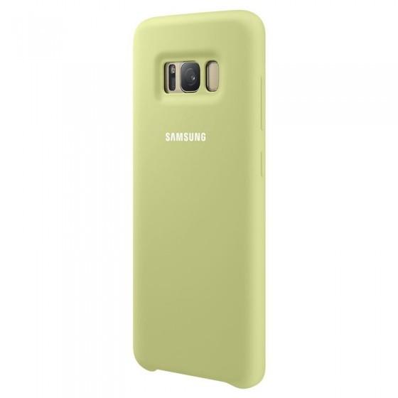 SAMSUNG Coque Silicone EF-PG950 pour Samsung Galaxy S8 Vert