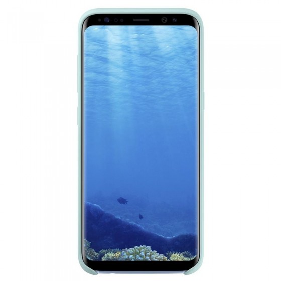 SAMSUNG Coque Silicone EF-PG950 pour Samsung Galaxy S8 Bleu