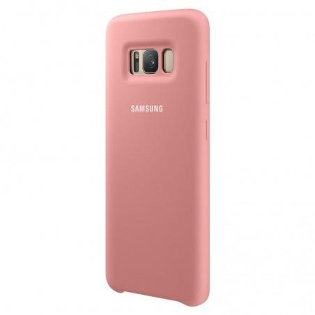 SAMSUNG Coque Silicone EF-PG950 pour Samsung Galaxy S8 Rose