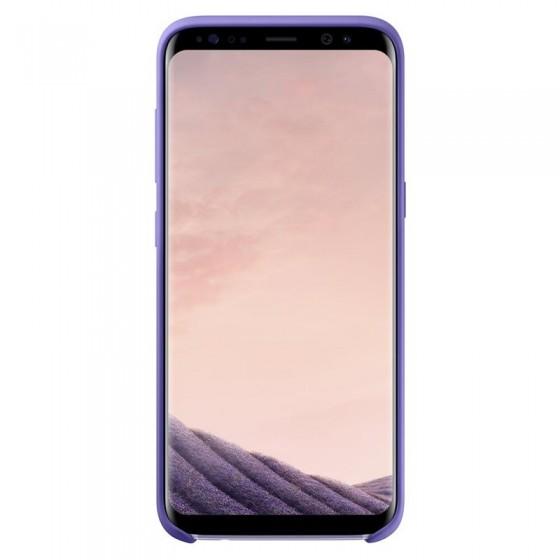 SAMSUNG Coque Silicone EF-PG950 pour Samsung Galaxy S8 Violet