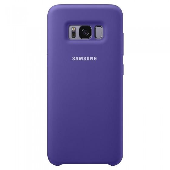 SAMSUNG Coque Silicone EF-PG955 pour Samsung Galaxy S8 Plus Violet