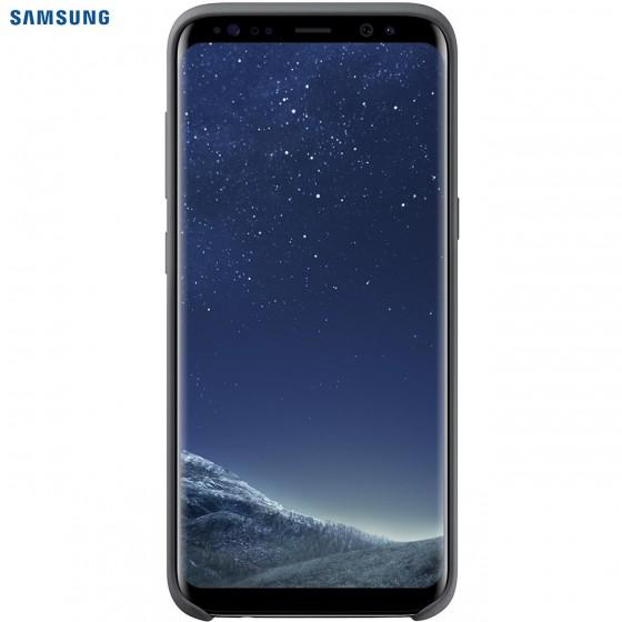 SAMSUNG Coque Silicone EF-PG955 pour Samsung Galaxy S8 Plus Noir
