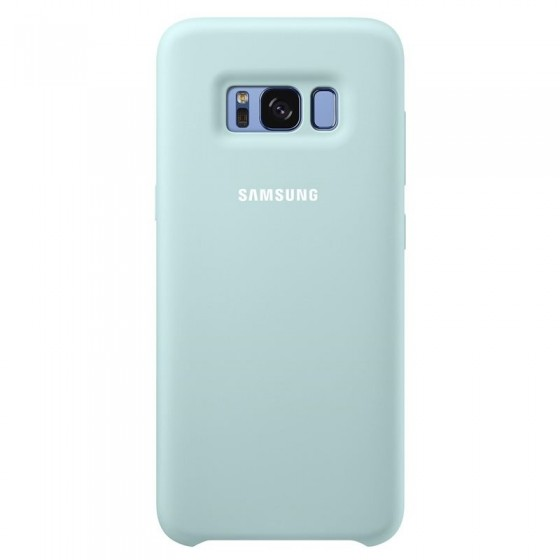 SAMSUNG Coque Silicone EF-PG955 pour Samsung Galaxy S8 Plus Bleu