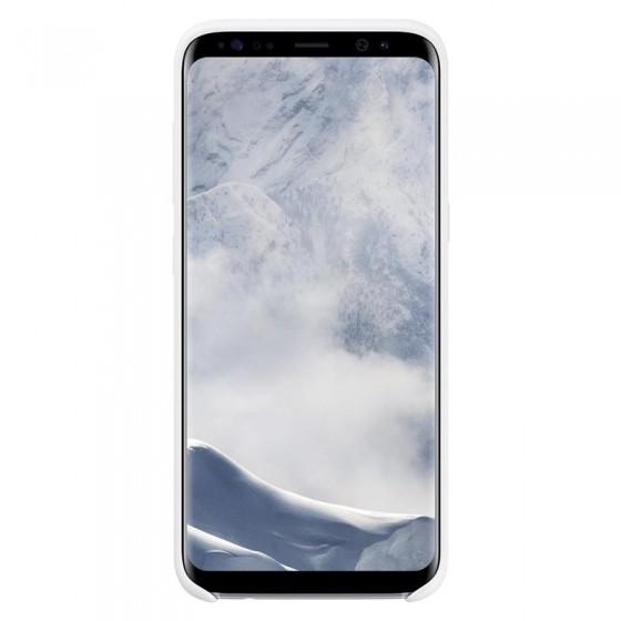 SAMSUNG Coque Silicone EF-PG955 pour Samsung Galaxy S8 Plus Blanc
