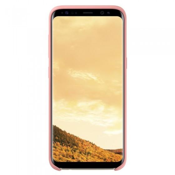 SAMSUNG Coque Silicone EF-PG955 pour Samsung Galaxy S8 Plus Rose