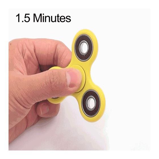HAND SPINNER 1.5 minute - Jaune