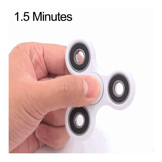 HAND SPINNER 1.5 minute - Blanc