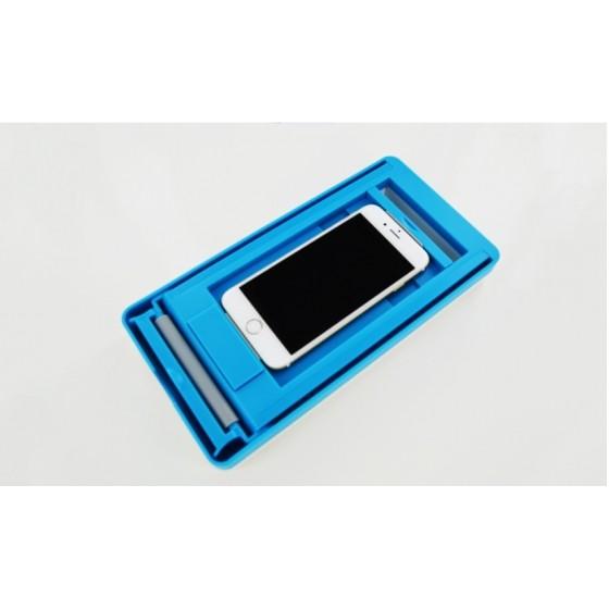 Machine pour apposer les films de protection pour smartphones iPhone et Samsung