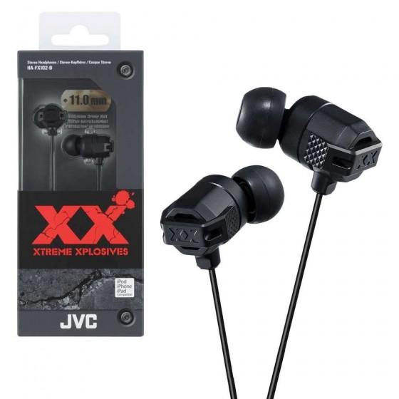 JVC Ecouteur Stéréo HA-FX102-B Noir