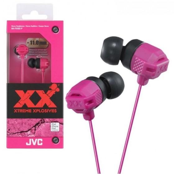 JVC Ecouteur Stéréo HA-FX102-P Rose