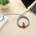 Câble USB Lightning 1m tressé incassable pour iPhone et iPad – Allu