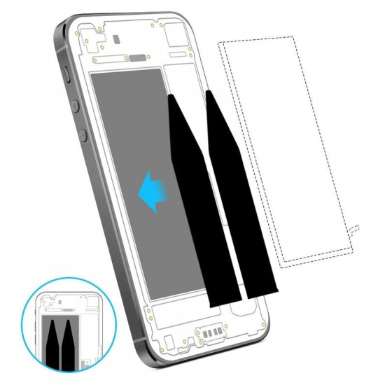 Batterie - iPhone 5S avec Sticker