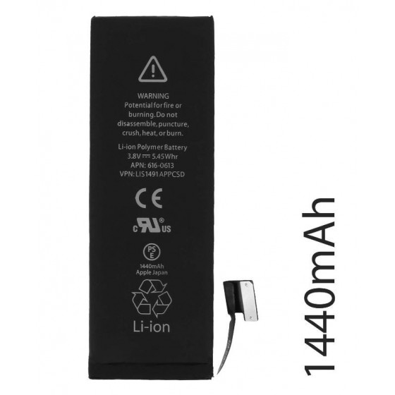 Batterie pour iPhone 5 avec Kit 5 Outils