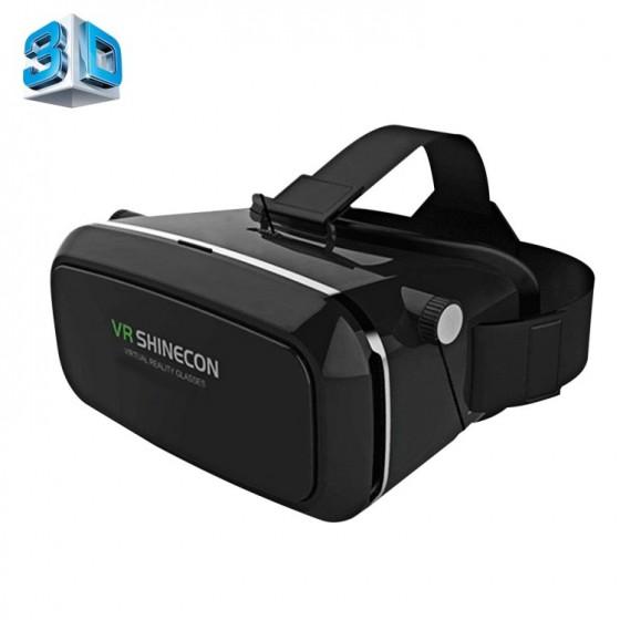 Casque de réalité virtuelle 3D VR SHINECON avec télécommande - Blanc