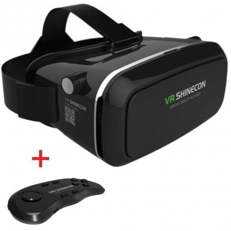 Casque de réalité virtuelle 3D VR SHINECON avec télécommande
