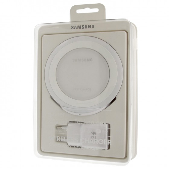 Samsung Chargeur Induction et Prise Chargeur rapide EP-NG930BW- Blanc