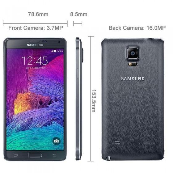Samsung Galaxy Note 4 N910F - Noir