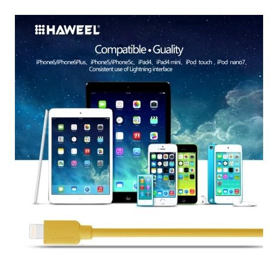 Câble Lightning USB iOS9 1m - iPhone 5/5S/5C, 6/6S, 6 Plus/6S PLus