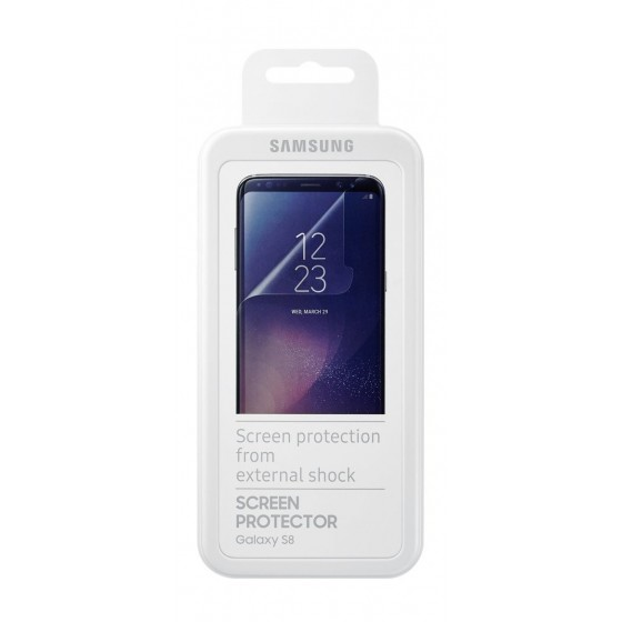 Samsung Original Film de Protection d'écran pour Samsung Galaxy S8 - Transparent