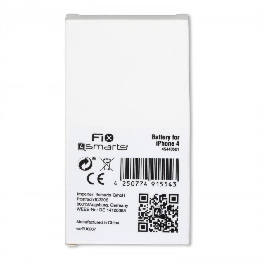 FIX4samrts Batterie pour iPhone 4